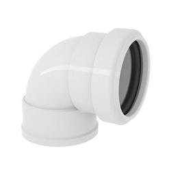 Joelho Branco 90° com Anel 40mm - Tigre - Sertãozinho Construlider