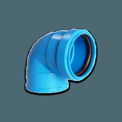 Joelho Azul 90° Para Esgoto c/ Anel de Vedação 40m... - Sertãozinho Construlider