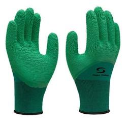 Luva Têxtil com Revestimento em Látex Verde G - Su... - Sertãozinho Construlider