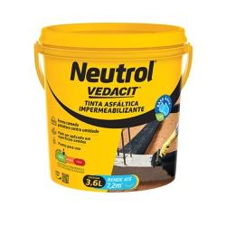 Neutrol À Base De Água Balde 3,6 Litros - Vedacit - Sertãozinho Construlider