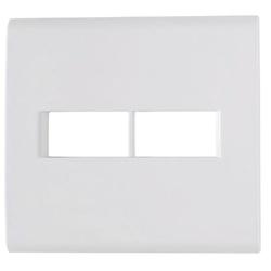 Placa Com 2 Postos 4x4 Liz Branca - Tramontina - Sertãozinho Construlider
