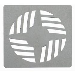 Ralo Grelha Quadrada Em ABS Cromado - Astra - Sertãozinho Construlider