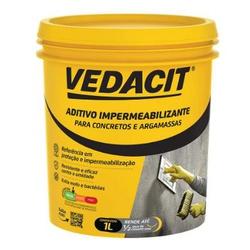 Aditivo Impermeabilizante 1L - Vedacit - Sertãozinho Construlider