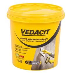 Aditivo Impermeabilizante 3,6L - Vedacit - Sertãozinho Construlider