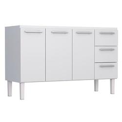 Gabinete De Cozinha Em Aço P/ Pia 1,5m Vênus Flat ... - Sertãozinho Construlider