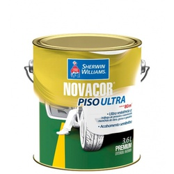 Tinta Piso Acrílica Semi Brilho 3,6 Litros Novacor Piso Ultra (Escolha Cor) * - CONSTRUTINTAS
