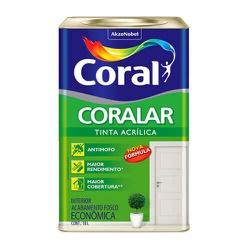 Tinta Acrílica Fosco Coralar 18L - (Escolha Cor) * - CONSTRUTINTAS