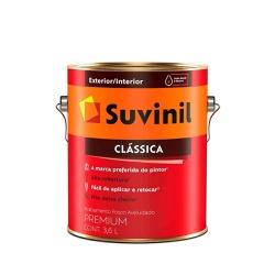 Tinta Látex Fosco Suvinil Clássica 3,6L (Escolha Cor) - CONSTRUTINTAS