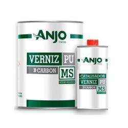 Kit Verniz PU 750ml + Endurecedor 225ml Carbon Médio Sólidos 5.1 - Anjo - CONSTRUTINTAS