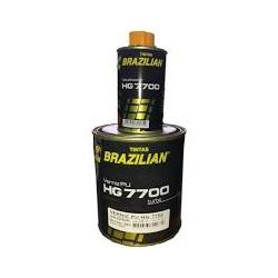 kit Verniz PU 750ml + Endurecedor 225ml - Médio Sólidos HG 7700 Brazilian - CONSTRUTINTAS