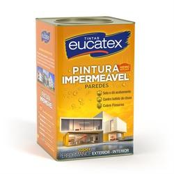 Tinta Impermeabilizante Branco Eucatex 18L - CONSTRUTINTAS