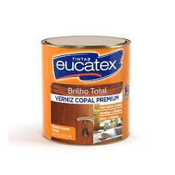 Verniz Brilhante Incolor Copal Eucatex 900ml - CONSTRUTINTAS