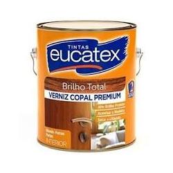 Verniz Brilhante Incolor Copal Eucatex 3,6L - CONSTRUTINTAS