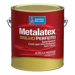 Tinta Acrílica Semi Brilho Metalatex 3,6L - (Escolha Cor) - CONSTRUTINTAS