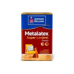 Tinta Acrílica Fosco Perfeito Metalatex 18L - (Escolha Cor) - CONSTRUTINTAS