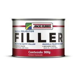 Massa Poliester 900g Filler - Maxi Rubber - CONSTRUTINTAS