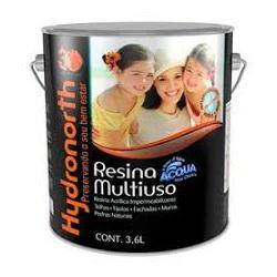 Resina Multiuso Brilhante (Escolha Cor) 3,6L - Hydronorth - CONSTRUTINTAS