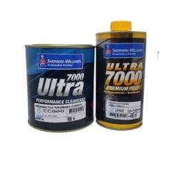 Kit Verniz Pu CC900 900ml + Endurecedor 0uh40 450ml Médio Sólidos - Ultra 7000 Lazzuril Sherwin Williams - CONSTRUTINTAS