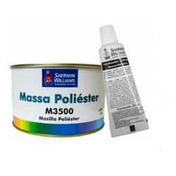 Massa Poliéster - M3500 750g - Kit com Catalisador Lazzuril - CONSTRUTINTAS