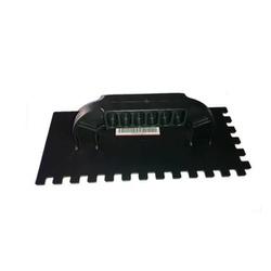 Desempenadeira PVC Dentada 12x26cm - Lixa Flex - CONSTRUTINTAS