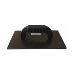 Desempenadeira PVC Lisa 16x29cm Preta - Lixa Flex - CONSTRUTINTAS