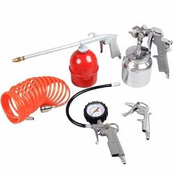 Kit de Acessórios para Compressor 5 peças - Lynus - CONSTRUTINTAS