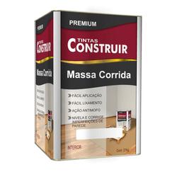 Massa Corrida Construir 18L 25kg - CONSTRUTINTAS