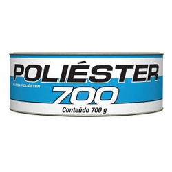 Massa Poliéster 700g Kit com Catalisador - Maxi Rubber - CONSTRUTINTAS
