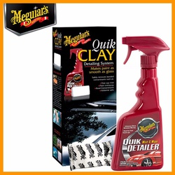 Kit Quik Clay Bar + Tok Final Para Descontaminação - G1116 - Meguiars - CONSTRUTINTAS