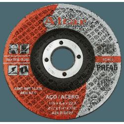 Disco de Desbaste 115,0x6, 4x22,2 PHF-46 Aço - Alcar - CONSTRUTINTAS