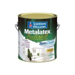 Tinta Acrílica Semi Brilho Branco 3,6L - Metalatex Bactercryl - CONSTRUTINTAS