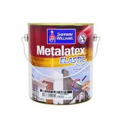 Tinta Acrílica Acetinado Branco 3,6L - Metalatex Elastic - CONSTRUTINTAS