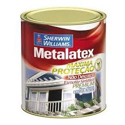 Esmalte Sintético Acetinado Branco Metalatex 900ml - CONSTRUTINTAS