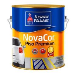 Tinta Piso Acrílica Fosco Novacor Piso 3,6 Litros (Escolha Cor) * - CONSTRUTINTAS