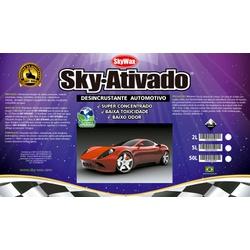 Limpeza Automotiva Ativado 5L - Sky - CONSTRUTINTAS