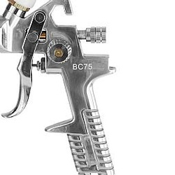 Pistola para Pintura HVLP 1,7mm 600ml STEULA Ref: BC75-17-VCP - CONSTRUTINTAS