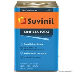 Tinta Acrílica Fosco Suvinil Limpeza Total 18L - (Escolha Cor) * - CONSTRUTINTAS