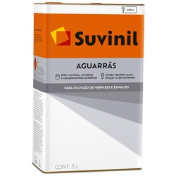 Solvente Aguarraz 5L - Suvinil - CONSTRUTINTAS