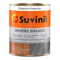 Esmalte Sintético Brilhante 900ml Suvinil Sempre Branco - CONSTRUTINTAS