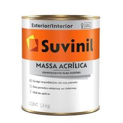 Massa Acrílica Suvinil 900ml 1,3kg - CONSTRUTINTAS