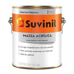 Massa Acrílica Suvinil 3,6 Litros 5,5kg - CONSTRUTINTAS