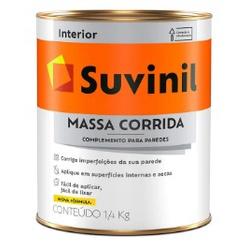 Massa Corrida Suvinil 900ml 1,4kg - CONSTRUTINTAS