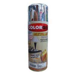Spray Metallik (Escolha a Cor) 350ml - Colorgin - CONSTRUTINTAS