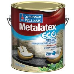 Resina Brilhante Metalatex Eco Sherwin Williams 3,6L (Escolha Cor) - CONSTRUTINTAS