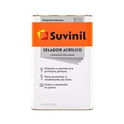 Selador Acrílico 18L Suvinil - Corante Tintas