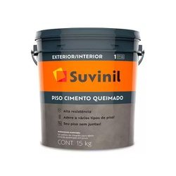 Suvinil Piso Cimento Queimado 15kg - Corante Tintas