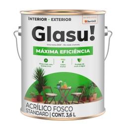 Glasu Maxima Eficiencia Acrilico Branco 3,6L - Corante Tintas