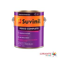 Fosco Completo 3,6L Suvinil - Corante Tintas