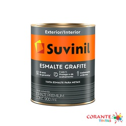 Esmalte Grafite 900ml Suvinil - Corante Tintas