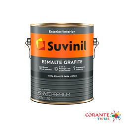 Esmalte Grafite 3,6L Suvinil - Corante Tintas